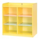 사물함 6인용(영아용)-Yellow