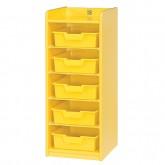 바구니장 1단-Yellow